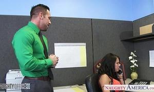 Chesty office playgirl peta jensen fucking