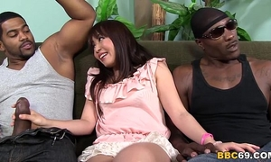 Marica hase anal dp with dark dicks