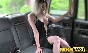 Fake taxi super sexy golden-haired with a great body likes rod