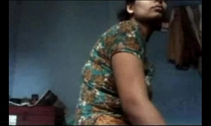 Deshi aunty drilled by her father in law