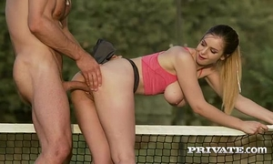 Stella cox prefers anal over tennis