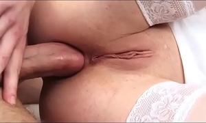Hot hot black cock sluts in white group-fucked in a trio