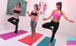 Kendra craving teaches yoga