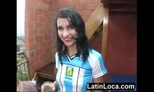 Follando una argentina trío anal