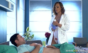 Brazzers - bawdy nurse kiera rose acquires some large rod