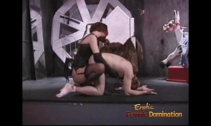 Stunning redhead looker enjoys whipping her incredibly lustful paramour sensually