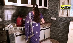 Indian maid porn on kitchen