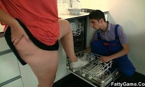 Big pointer sisters plumper seduces slender chap