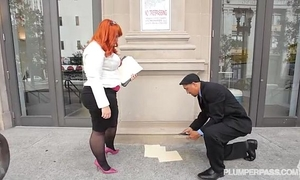 Big wazoo bbw redhead tiffany star bonks her recent boss