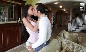 Porno mexicano, novia con ricas tetas!!