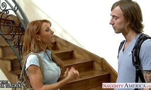 Hottie teacher janet mason acquires facialized
