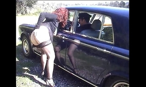Jessica rizzo screwed in the booty by a rolls driver