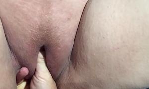 Husband fisting slutty wife sexy vagina