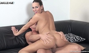 Mea melone creampied by muscle stud matt in her reality show