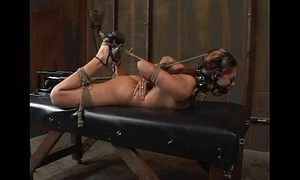 "Satine phoenix - ideal serf ""hogtied and fucked"" 02/25/2007"