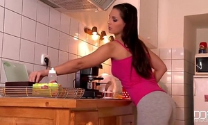 Eve angel - pursue me to the kitchen