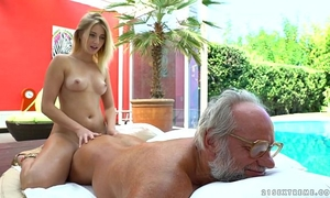 Aria logan and her much aged ally - grandpas fuck nubiles