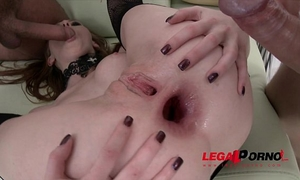 Halloween treat! linda sweet triple anal (tap) with 4 fellows sz715
