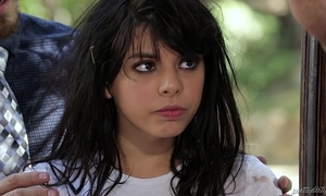 Wild legal age teenager from the woods - gina valentina