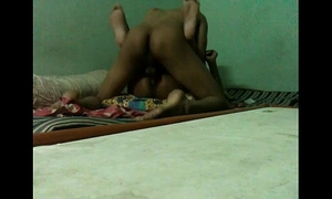 Desi legal age teenager pair enjoyable fucking at home