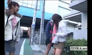 Subtitled eager public japanese crossdressing femdom