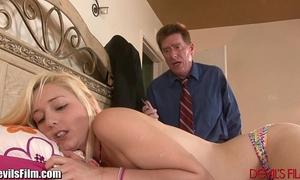 Devilsfilm daddy copulates daughters bff