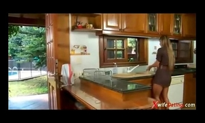 Spanish girl copulates in the kitchen xvideoscom