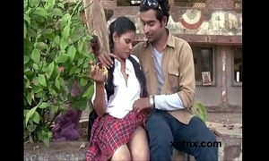 Guy seducing legal age teenager housewife and pressing her mangos