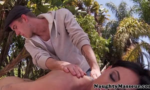 Pierced massaged brandy aniston team-fucked