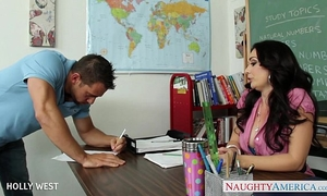 Brunette teacher holly west fuck juvenile student