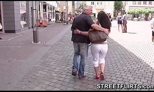 Horny casting agent looking for gals on the streets to fuck