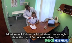 Fakehospital sexy nurse rims her way to a raise