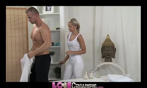 Love creampie excited juvenile blondes have a fun large hard knob in their soaked snatches