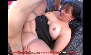 Fat whore drilled ! grosse salope bien enculee !! french dilettante