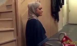 Hijabi Married slut fucked into ass