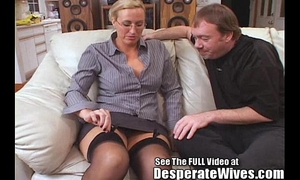 Tall BBC slut acquires drilled and spermed!