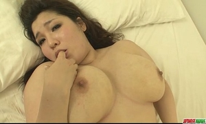 Plump and breasty playgirl yume sazanami finger drilled and vagina pounded