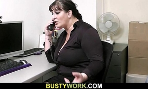 Huge doxy is screwed by future boss
