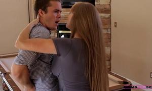 Moms train sex - mama teaches stepdaughter some recent tricks