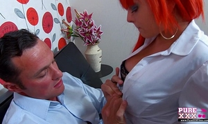 Purexxxfilms redhead punker BBC slut drilled hard