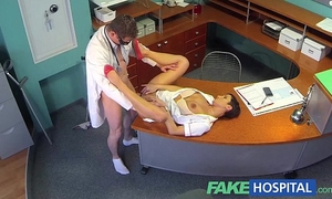 Fakehospital breasty ex porn star uses her outstanding raunchy skills