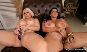 Big titted cubans!! angelina castro bedelli buttland!
