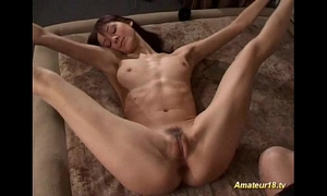 Flexible boytoy contortionist receives screwed