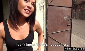 Hungarian dilettante hottie fuck in factory