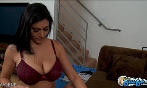 Bubble assed raylene acquires screwed