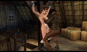 Lara croft captured part 2