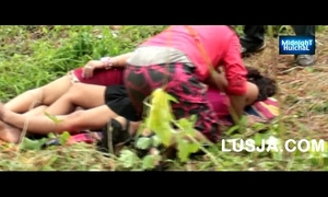 One dude romance with telugu gals outdoor