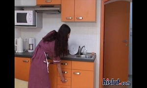 Tanja receives to work