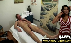 Guy receives an oriental erotic massage