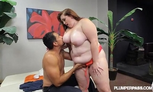 New bbw non-professional curious clover bonks for 1st time